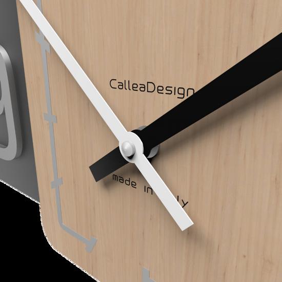 CALLEA DESIGN SIXTY OROLOGIO MODERNO DA PARETE LEGNO NERO