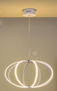 LAMPADARIO DESIGN SOGGIORNO MODERNO LED 37W 3000K PER INTERNI