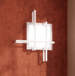 PLAFONIERA SMALL BIANCA DESIGN TOPLIGHT CROSS