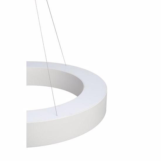 LAMPADARIO A LED MODERNO 40W 3000K DIMMERABILE 60CM FORMA ROTONDA