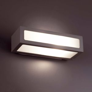 APPLIQUE DA ESTERNO IP54 MODERNO LUCE DIFFUSA E27 LED