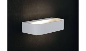 APPLIQUE LED 12W 3000K METALLO BIANCO DESIGN MODERNA