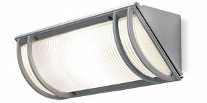 APPLIQUE DA ESTERNO IP44 LAMPADA DA PARETE GRIGIO E27 LED