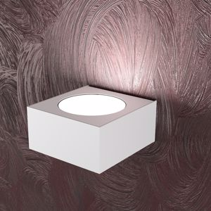 APPLIQUE MODERNA LED BIANCO LUCE UP AREA TOPLIGHT