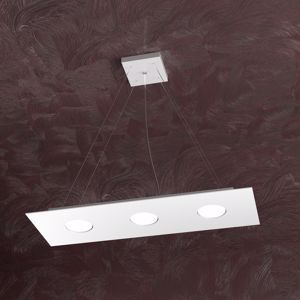 TOP LIGHT AREA LAMPADARIO PER CUCINA MODERNA BIANCO LED