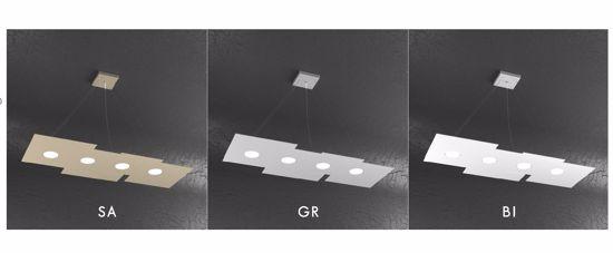 TOPLIGHT PLATE LAMPADARIO LED GX53 TORTORA PER CUCINA MODERNA
