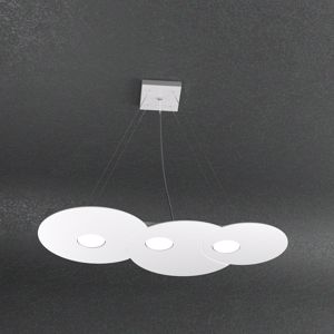 LAMPADARIO CUCINA TOPLIGHT CLOUD BIANCO 3 LUCI LED INTERCAMBIABILI