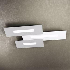 TOPLIGHT WALLY PLAFONIERA LED 80CM BIANCO GRIGIO DESIGN MODERNO