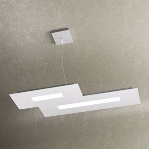 LAMPADARIO CUCINA LAMPADINE LED 30W BIANCO DESIGN MODERNO WALLY TOP LIGHT