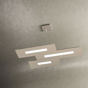 LAMPADARIO DESIGN PER CUCINA MODERNA LED 45.5W SABBIA WALLY TOP LIGHT