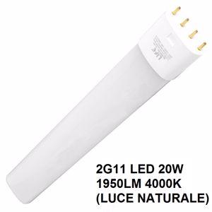 LIFE LAMPADA TUBO LED 2G11 20W 1900 LUMEN 4000K LUCE NATURALE COD. 39.940420N