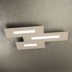 WALLY TOP LIGHT PLAFONIERA LED GRIGIO DESIGN MODERNO