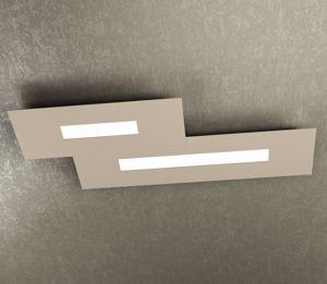 TOP LIGHT WALLY PLAFONIERA LED 71CM SABBIA DESIGN MODERNO