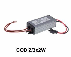 DRIVER TRASFORMATORE 2X3X2W KELVIN LED