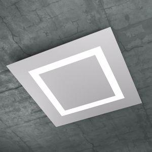 TOP LIGHT CARPET PLAFONIERA LED 80W 58CM GRIGIO DESIGN MODERNO