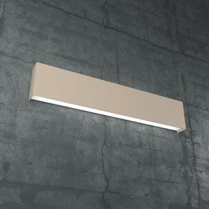 CARPET TOP LIGHT APPLIQUE DA PARETE LED 60W 60CM METALLO COLORE SABBIA