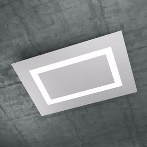 PLAFONIERA LED 91W 70CM GRIGIO DESIGN MODERNO TOPLIGHT CARPET