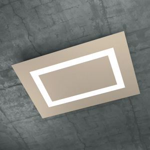 CARPET TOPLIGHT PLAFONIERA LED 91W 70CM SABBIA DESIGN MODERNO