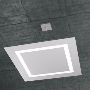 LAMPADARIO MODERNO LED 120W 70CM GRIGIO DESIGN MODERNO TOP LIGHT CARPET