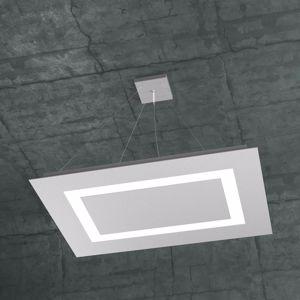 LAMPADARIO PER SOGGIORNO LED 91W GRIGIO MODERNO TOPLIGHT CARPET
