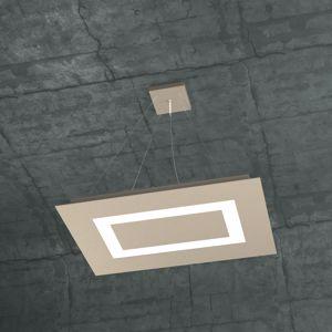 TOPLIGHT CARPET LAMPADARIO LED 60W SABBIA PER SOGGIORNO MODERNO