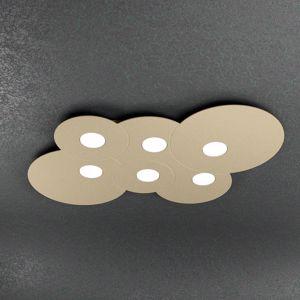 PLAFONIERA 6 LED DA SOFFITTO SABBIA TOP LIGHT CLOUD DESIGN MODERNO