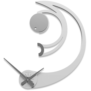 CALLEA DESIGN AGATHA OROLOGIO DA PARETE LEGNO BIANCO DESIGN MODERNO