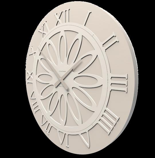 CALLEA DESIGN ATHENA GRANDE OROLOGIO MODERNO DA PARETE SABBIA 60