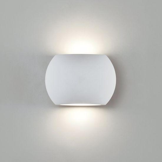 APPLIQUE DA PARETE LED 6W 3200K BIANCO DESIGN MODERNA