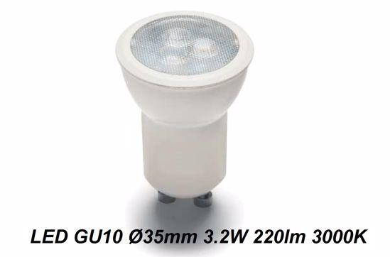 LAMPADINA LED 3.2W 3000K GU10 3.5CM COD. L007