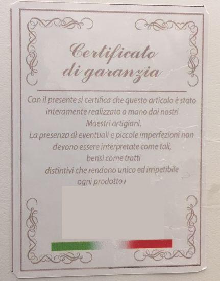 CAPEZZALE MATERNITA 120X60 CASSETTONE IN LEGNO DECORATO A MANO