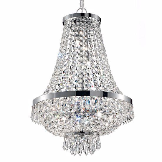 Lampadari Classici Per Soggiorno.Lampadari Classici Di Cristalli Trasparenti 45 Cm Da Salotto Soggiorno