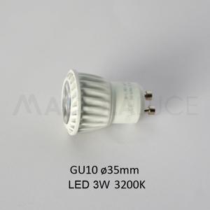 ISYLUCE LAMPADINA LED GU10 35MM PER SEGNAPASSO 822 E 823