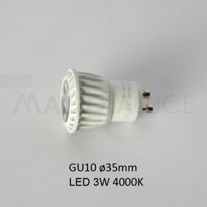 ISYLUCE LAMPADINA LED 3W GU10 35MM 4000K 280 LUMEN