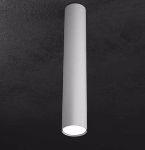 FARETTO DA SOFFITTO LAMPADINE LED GX53 METALLO GRIGIO H50CM TOP LIGHT
