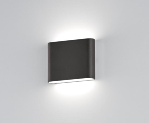 PICCOLO APPLIQUE DA ESTERNO LED 6W 3000K IP54 ANTRACITE DESIGN MODERNA
