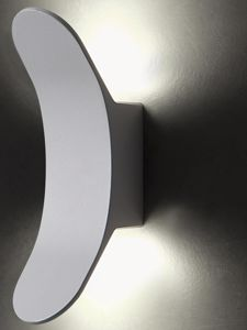 APPLIQUE PER ESTERNO IP55 GRIGIO DESIGN MODERNA LED 8W 4000K