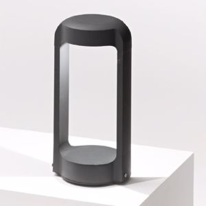 GEA LUCE LAMPIONCINO BASSO DA GIARDINO IP65 LED 13W 4000K H30 ANTRACITE MODERNO