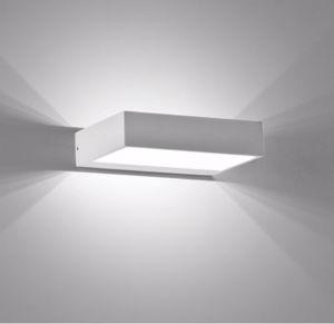 ISYLUCE APPLIQUE A LED 6W 3000K DESIGN MODERNO BIANCO DA INTERNO