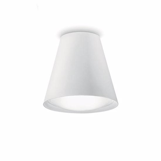 PLAFONIERA CONUS LINEA LIGHT DESIGN MODERNA LED 8W 3000K BIANCA