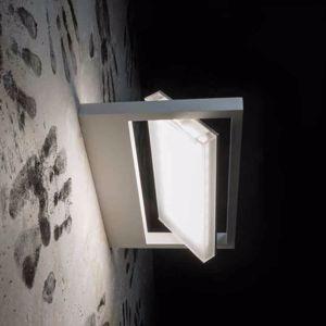 LAMPADA A PARETE LED 13W 3000K PARABOLA GIREVOLE DESIGN MODERNA BIANCO