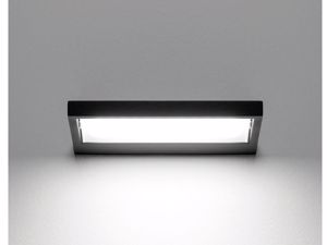 APPLIQUE NERO LED 19W 3000K PARABOLA ORIENTABILE MODERNO