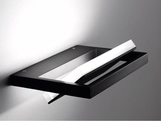 APPLIQUE NERO LED 31W 3000K PARABOLA ORIENTABILE