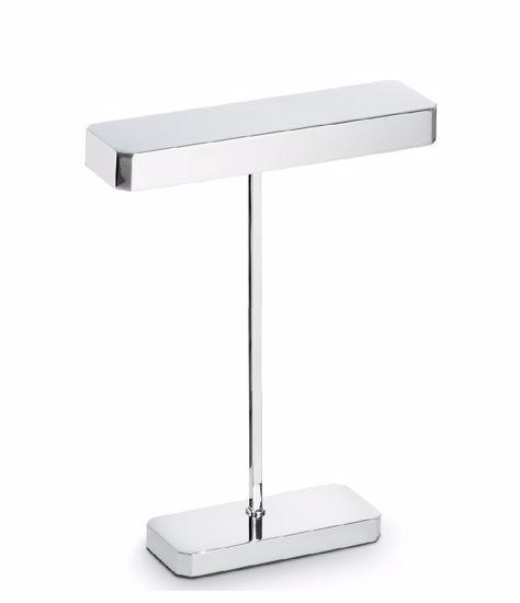 LAMPADA DA SCRIVANIA MODERNA LED G9 CROMO LUCIDO PROMOZIONE