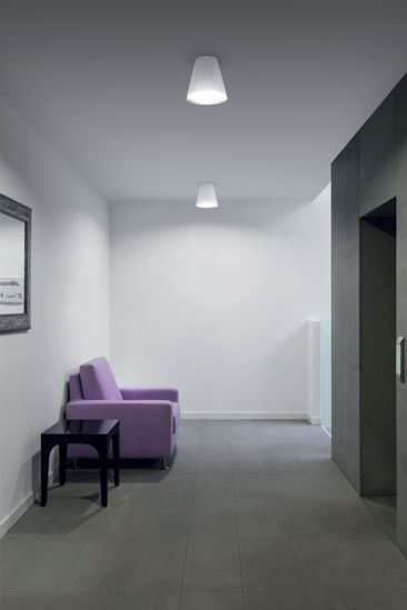 PLAFONIERA LED 7W 3000K  MODERNA BIANCA CONUS LINEA LIGHT