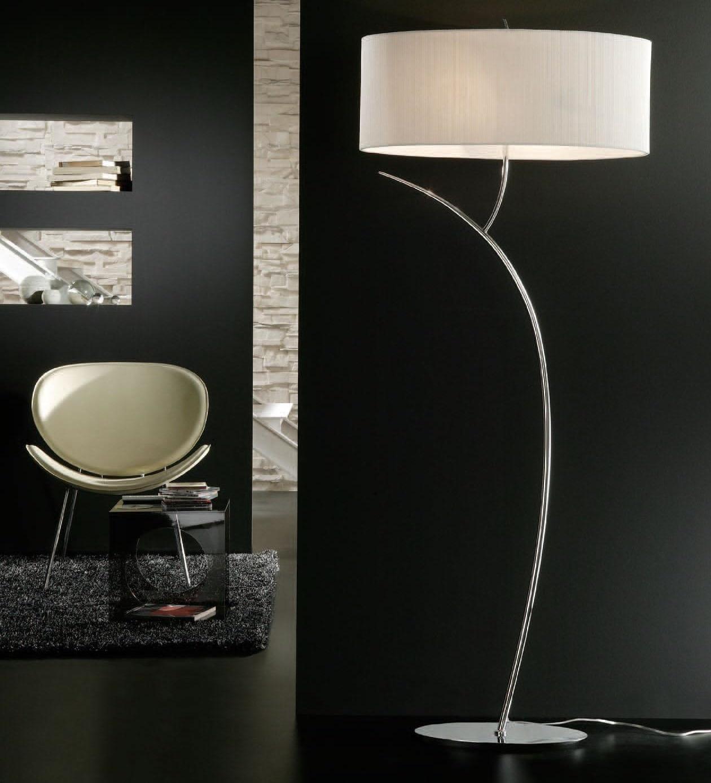 PIANTANA LAMPADA DA TERRA DESIGN MODERNA PER SOGGIORNO - 1139