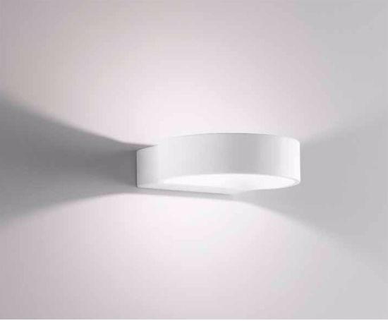 ISYLUCE APPLIQUES A LED 6W 3000K DESIGN MODERNA BIANCO PER INTERNI