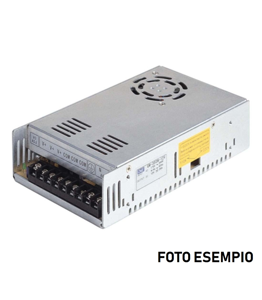 DRIVER PER STRIP LED IP20 SCATOLA IN METALLO CON VENTOLA RAFFREDAMENTO FINO A 240W