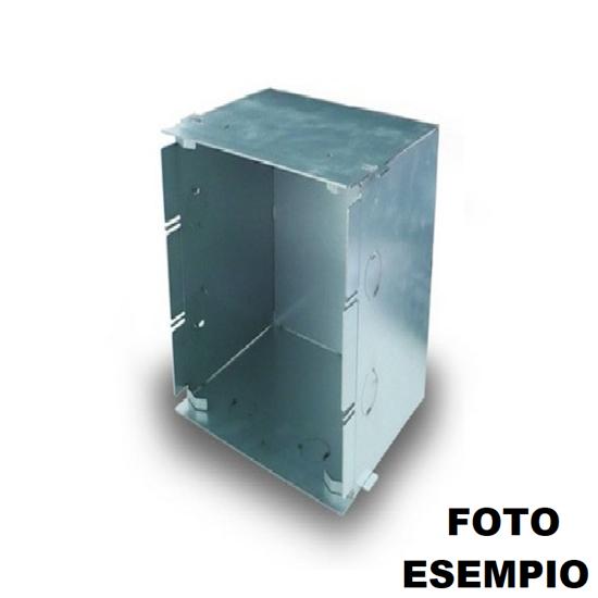 CASSAFORMA IN METALLO PER MURATURA PER APPLIQUE LED 2416C COD. 0234008