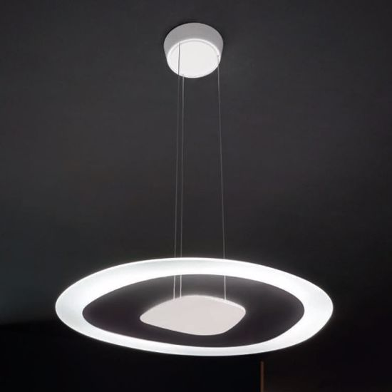 LAMPADARIO PER CUCINA DESIGN MODERNO LED 38W 3000K LINEALIGHT ANTIGUA